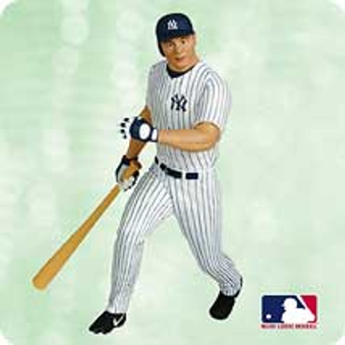 2003 Ballpark #8 - Jason Giambi Hallmark ornament