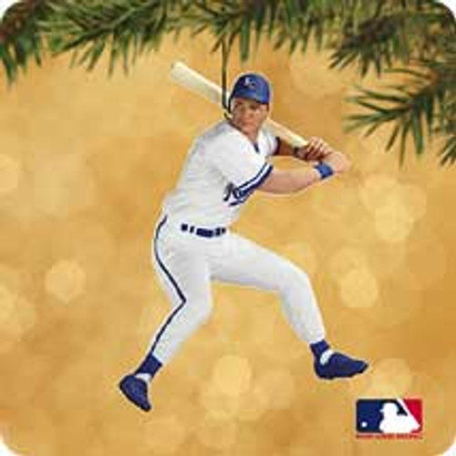 2002 Baseball - George Brett Hallmark ornament