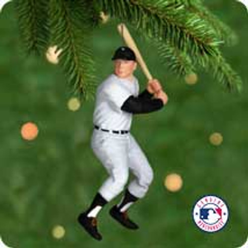 2001 Baseball - Mickey Mantle Hallmark ornament