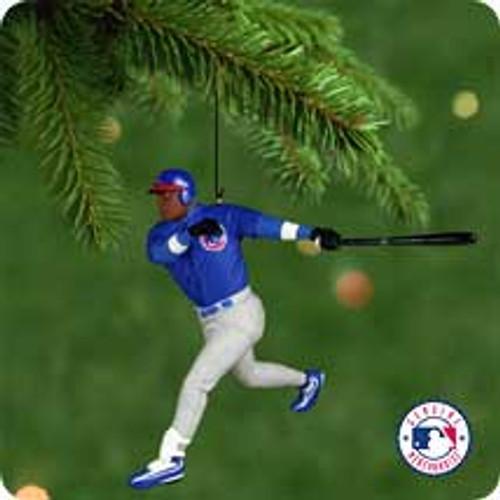 2001 Ballpark #6 - Sammy Sosa Hallmark ornament