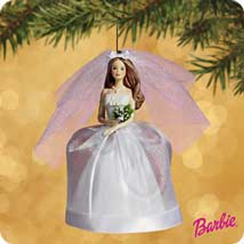 2002 Barbie - Bride - Brunette Hallmark ornament