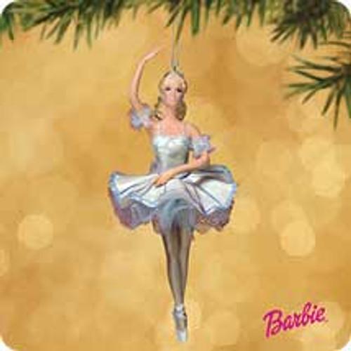 2002 Barbie - Snowflake Hallmark ornament