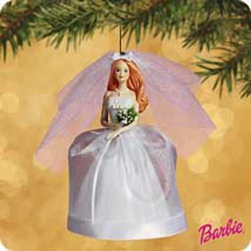 2002 Barbie - Bride - Auburn Hallmark ornament
