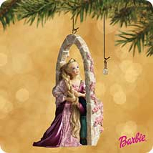 2002 Barbie - Rapunzel Hallmark ornament