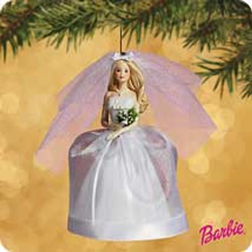 2002 Barbie - Bride - Blonde Hallmark ornament