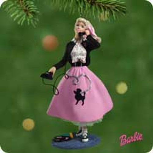 2001 Barbie - 1950's Hallmark ornament