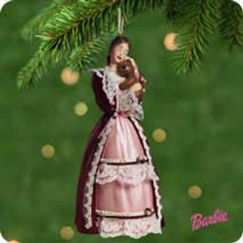 2001 Barbie - Victorian Hallmark ornament