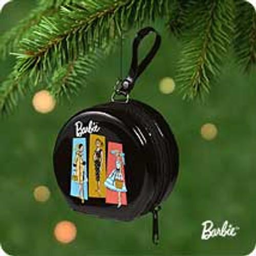 2001 Barbie - Hatbox Hallmark ornament