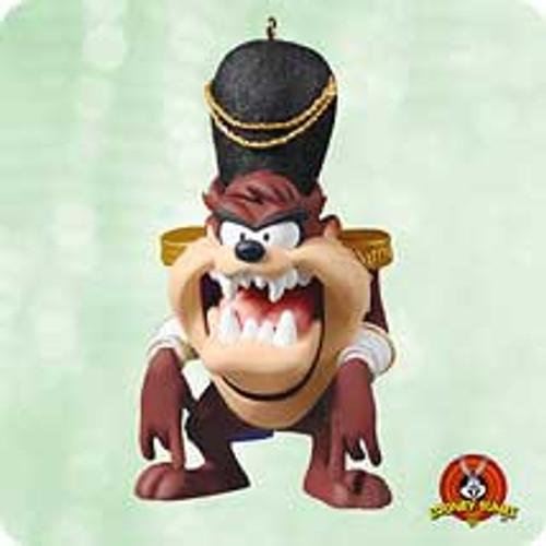 2003 Looney Tunes - Taz As Nutcracker Hallmark ornament