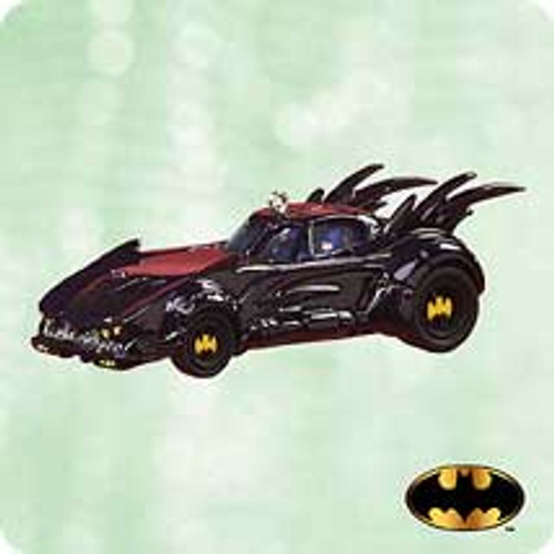 2003 Batmobile - 90's Hallmark ornament