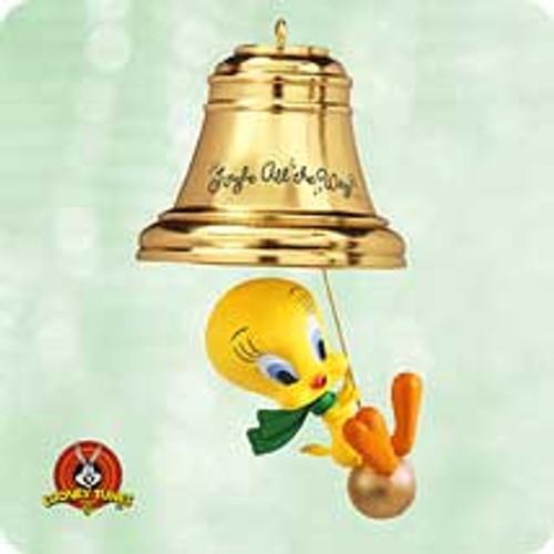 2003 Looney Tunes - Tweety - Jingle Hallmark ornament