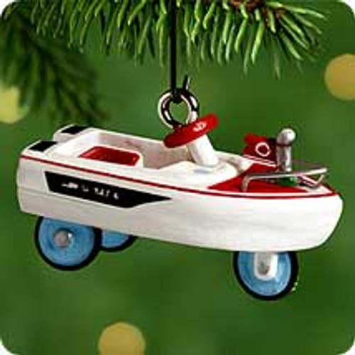 2000 Kiddie Car Mini #6 - Jolly Roger Boat