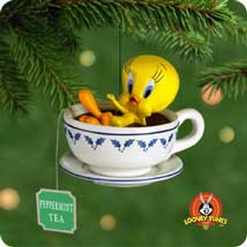 2001 LT - Holiday Spa Tweety Hallmark ornament