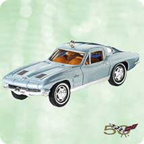 2003 Classic Cars #13 - 1963 Corvette Hallmark ornament