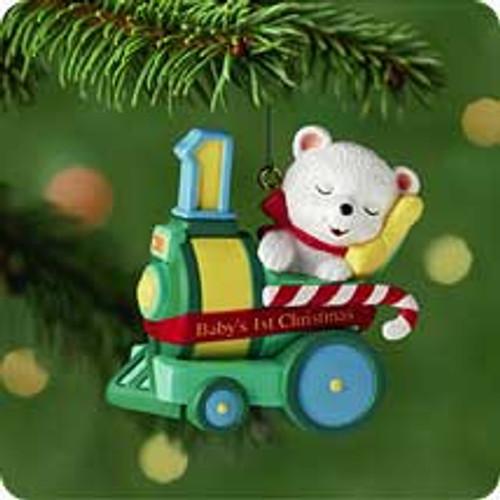 2001 Baby's 1st Christmas - Bear Hallmark ornament