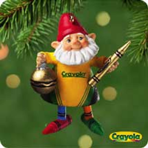 2001 Crayola - Crew Chief Hallmark ornament