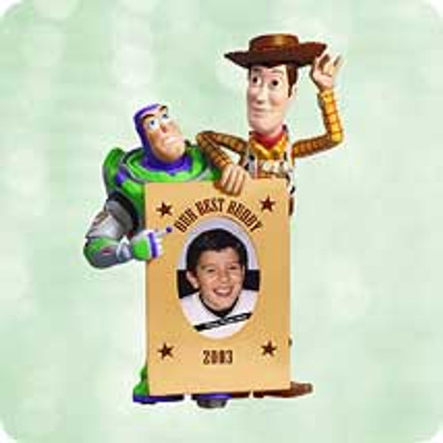 2003 Disney - Toy Story Photo Holder Hallmark ornament