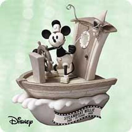 2003 Disney - Steamboat Willie Hallmark ornament