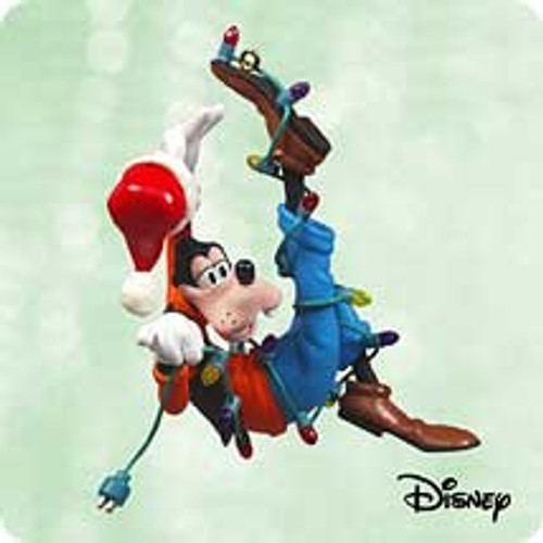 2003 Disney - Goofy Helps Out Hallmark ornament