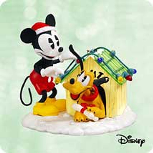 2003 Disney - Home Bright Home Hallmark ornament