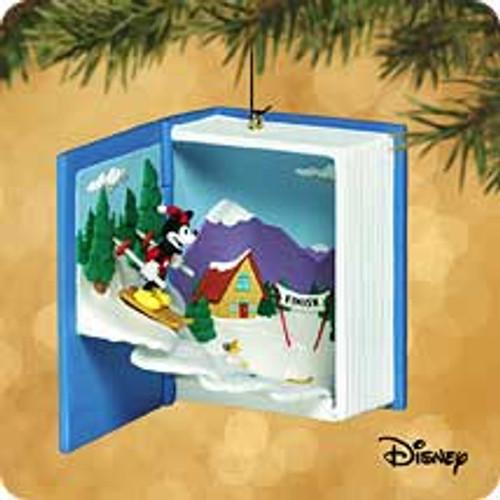 2002 Disney - Ski Challenge Hallmark ornament
