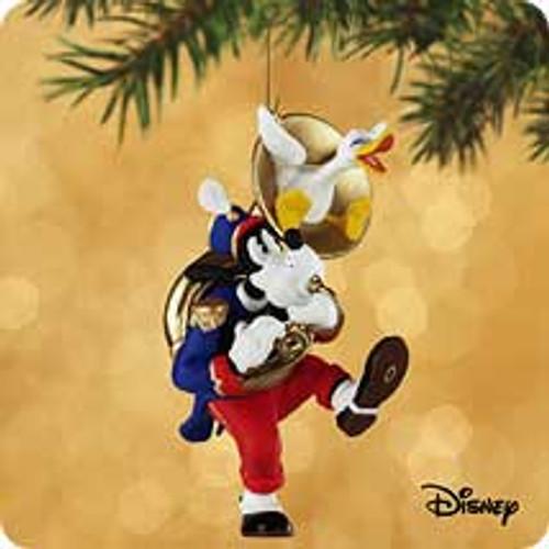 2002 Disney - Goofy Toots Tuba #6F Hallmark ornament
