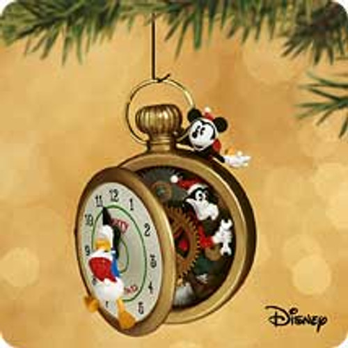 2002 Disney - Goofy Clockworks Hallmark ornament