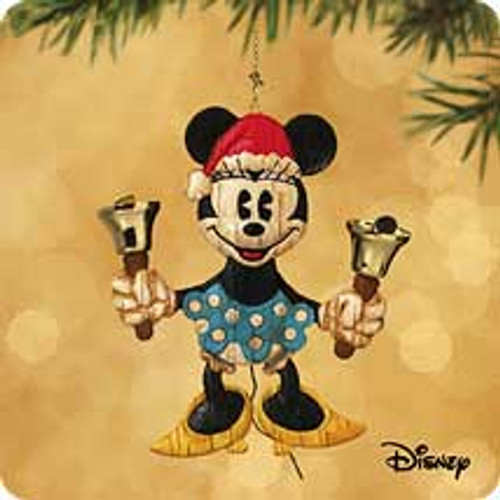 2002 Disney - Playful Minnie Hallmark ornament