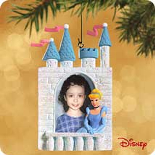 2002 Disney - Cinderella Photo Holder Hallmark ornament
