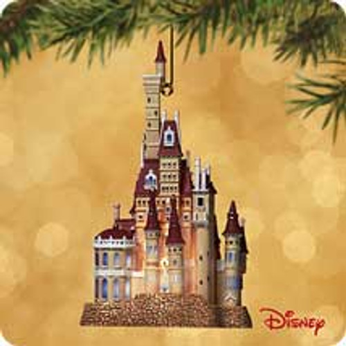 2002 Disney - Castle Beauty And Beast Hallmark ornament