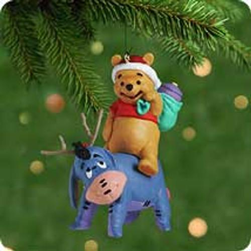 2001 Disney - Eeyore Helps Out Hallmark ornament