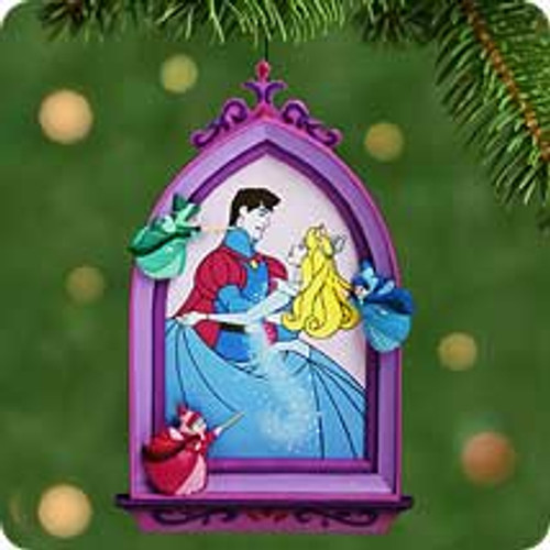 2001 Disney - Magical Dress - Briar Rose Hallmark ornament