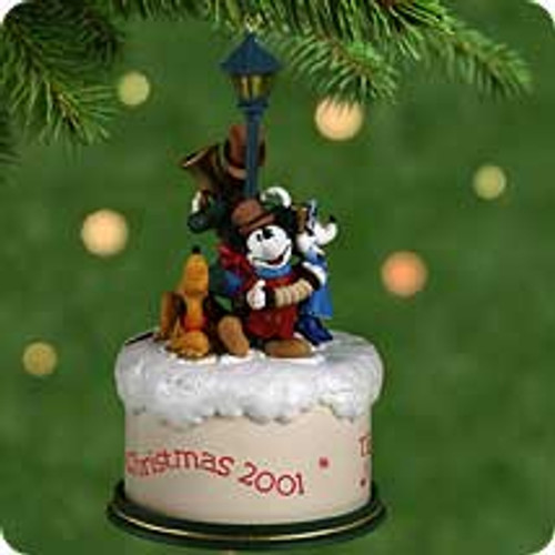2001 Disney - Merry Carolers Hallmark ornament