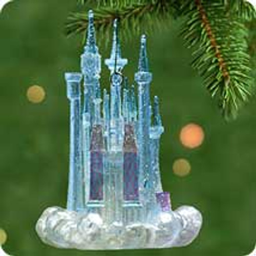 2001 Disney - Cinderella's Castle Hallmark ornament