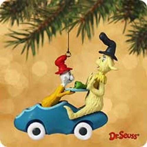 2002 Dr Seuss #4 - Green Eggs Hallmark ornament
