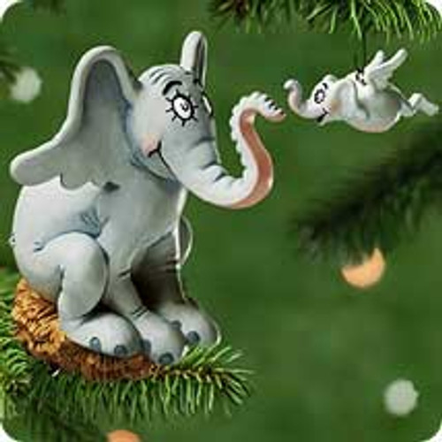 2001 Dr Seuss #3 - Horton Hatches The Egg Hallmark ornament