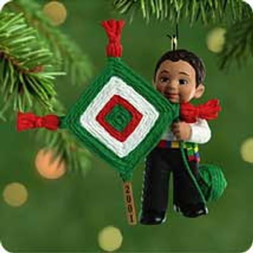 2001 Feliz Navidad Hallmark ornament