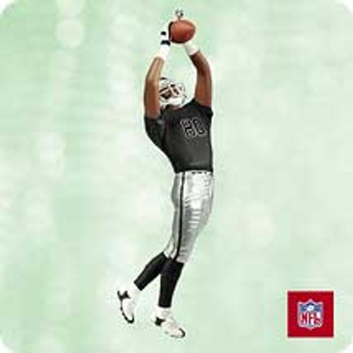 2003 Football #9 - Jerry Rice Raiders Hallmark ornament