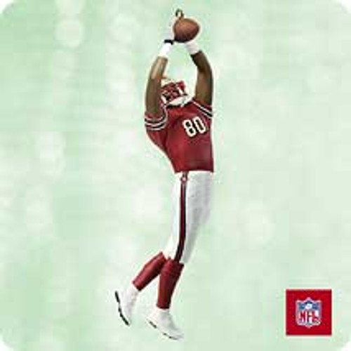 2003 Football #9 - Jerry Rice 49ers Hallmark ornament
