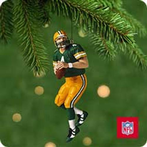 2001 Football #7 - Brett Favre Hallmark ornament