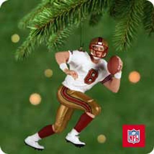 2001 Football - Steve Young Hallmark ornament