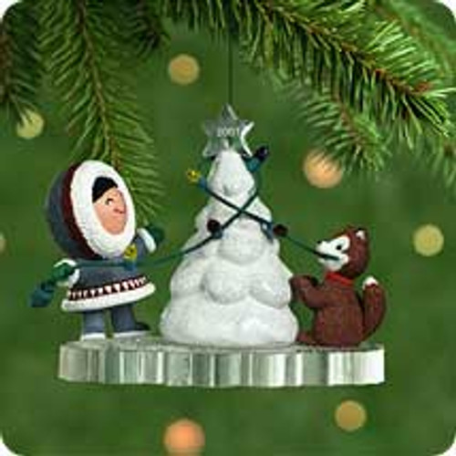 2001 Frosty Friends #22 Hallmark ornament