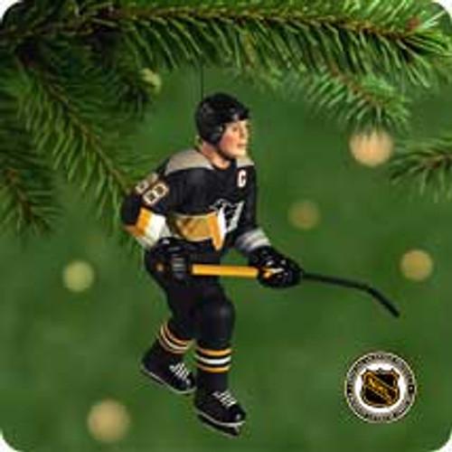 2001 Hockey Greats #5F - Jagr Hallmark ornament