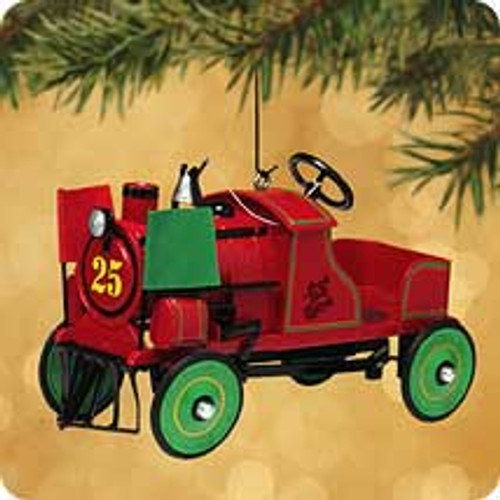 2002 Kiddie Car Classic #9 - Jingle Bell Express Hallmark ornament