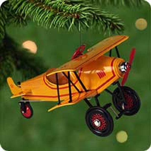 2001 Kiddie Car Classic #8 - Airplane Hallmark ornament