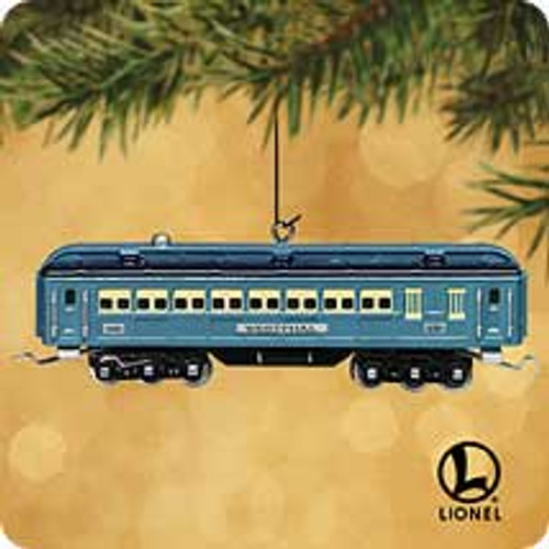2002 Lionel - Passenger Car Hallmark ornament