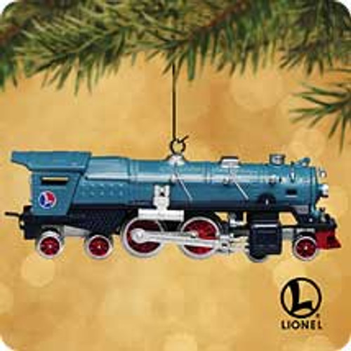 2002 Lionel #7 - Blue Comet Hallmark ornament
