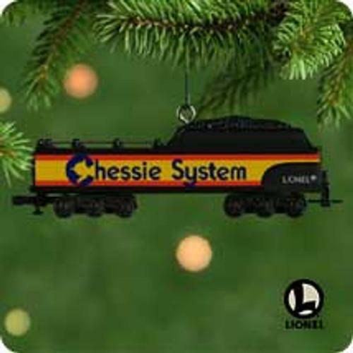 2001 Lionel Chessie Tender Hallmark ornament
