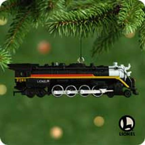 2001 Lionel Chessie #6 Hallmark ornament