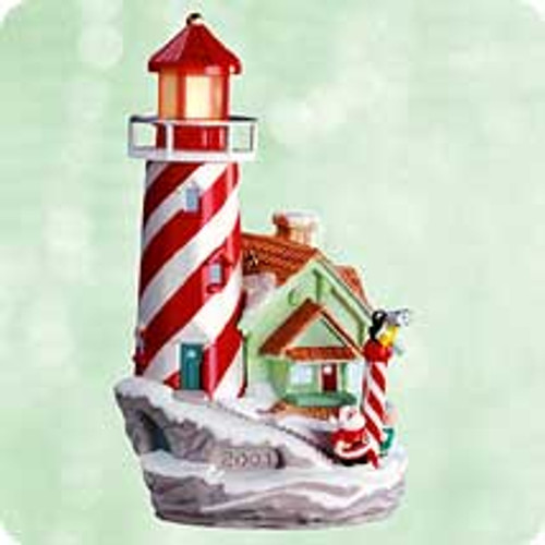 2003 Lighthouse Greetings #7 Hallmark ornament